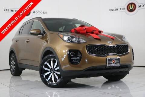 2019 Kia Sportage for sale at INDY'S UNLIMITED MOTORS - UNLIMITED MOTORS in Westfield IN