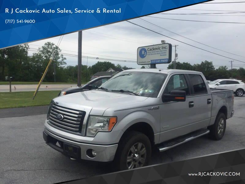 2011 Ford F-150 for sale at R J Cackovic Auto Sales, Service & Rental in Harrisburg PA