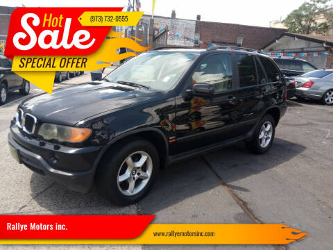 2001 BMW X5 for sale at Rallye  Motors inc. in Newark NJ