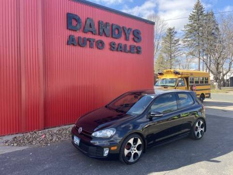 2011 Volkswagen GTI for sale at Dandy's Auto Sales in Forest Lake MN