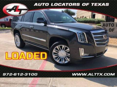 2018 Cadillac Escalade for sale at AUTO LOCATORS OF TEXAS in Plano TX