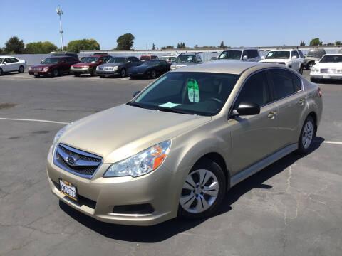 2010 Subaru Legacy for sale at My Three Sons Auto Sales in Sacramento CA