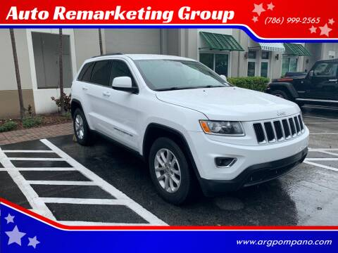 2015 Jeep Grand Cherokee for sale at Auto Remarketing Group in Pompano Beach FL