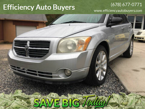 2010 Dodge Caliber for sale at Efficiency Auto Buyers in Milton GA