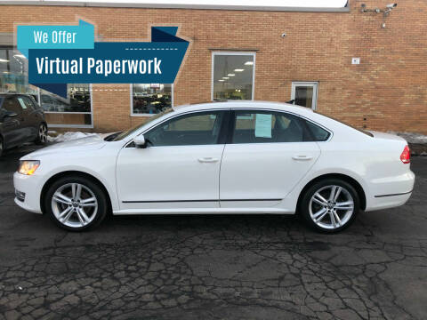 2013 Volkswagen Passat for sale at Auto Sport INC in Grand Rapids MI