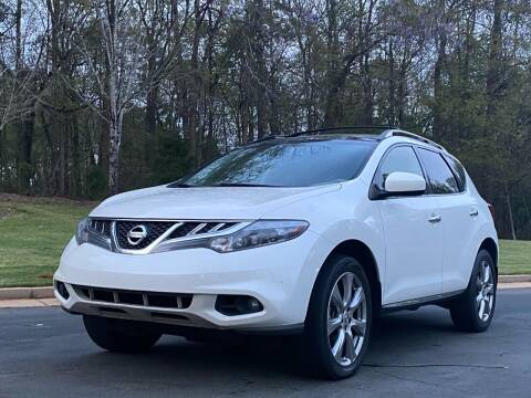 2014 Nissan Murano for sale at Top Notch Luxury Motors in Decatur GA