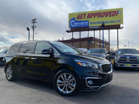 2015 Kia Sedona for sale at New Wave Auto Brokers & Sales in Denver CO