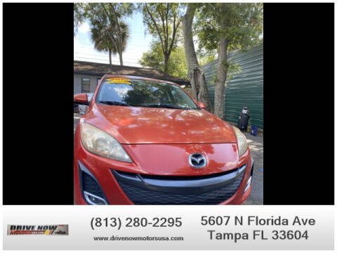 2010 Mazda MAZDA3 for sale at Drive Now Motors USA in Tampa FL