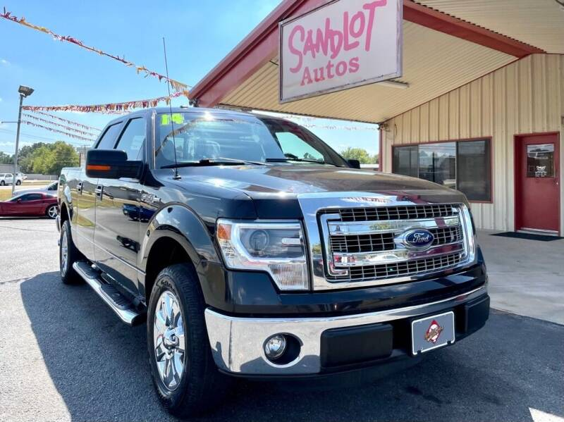 2014 Ford F-150 for sale at Sandlot Autos in Tyler TX
