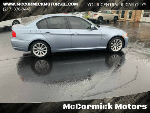 2011 BMW 3 Series for sale at McCormick Motors in Decatur IL