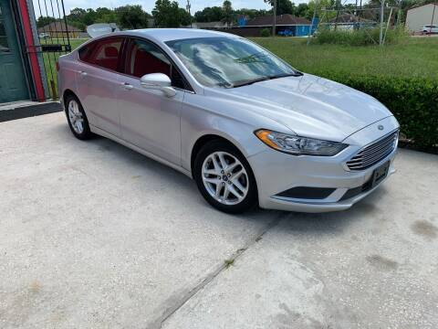 2015 Ford Fusion for sale at PICAZO AUTO SALES in South Houston TX