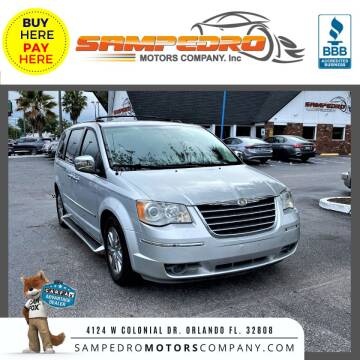 2008 Chrysler Town and Country for sale at SAMPEDRO MOTORS COMPANY INC in Orlando FL