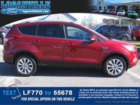 2017 Ford Escape for sale at Loganville Ford in Loganville GA