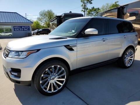 2015 Land Rover Range Rover Sport for sale at Kell Auto Sales, Inc - Grace Street in Wichita Falls TX