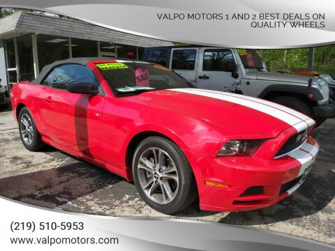 2014 Ford Mustang for sale at Valpo Motors 1 and 2  Best Deals On Quality Wheels in Valparaiso IN