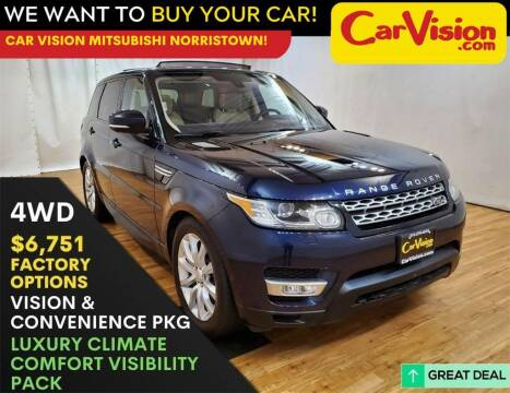 2016 Land Rover Range Rover Sport for sale at Car Vision Mitsubishi Norristown in Trooper PA