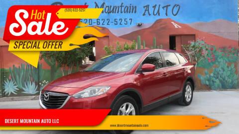 2013 Mazda CX-9 for sale at DESERT MOUNTAIN AUTO LLC in Tucson AZ