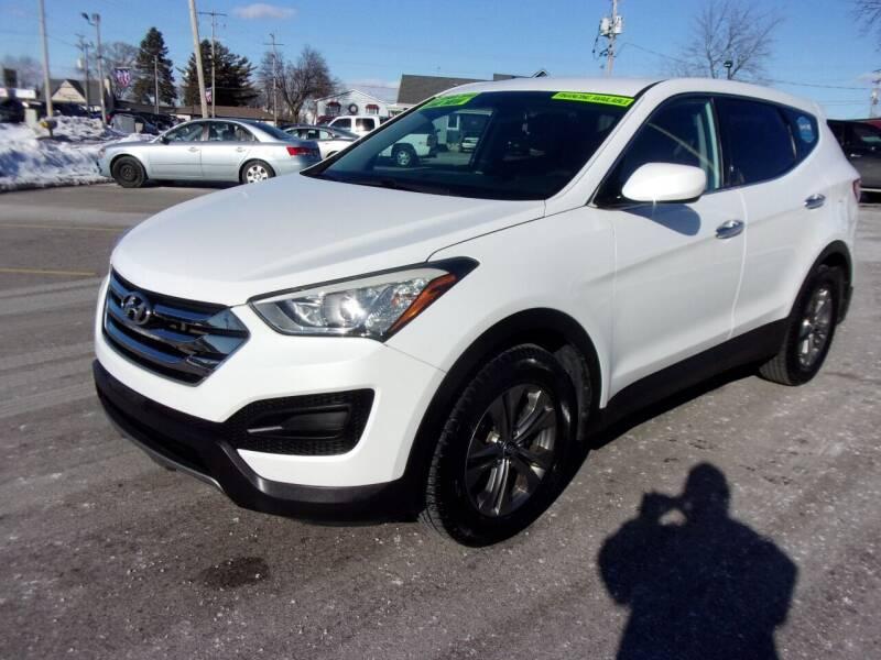 2013 Hyundai Santa Fe Sport for sale at Ideal Auto Sales, Inc. in Waukesha WI