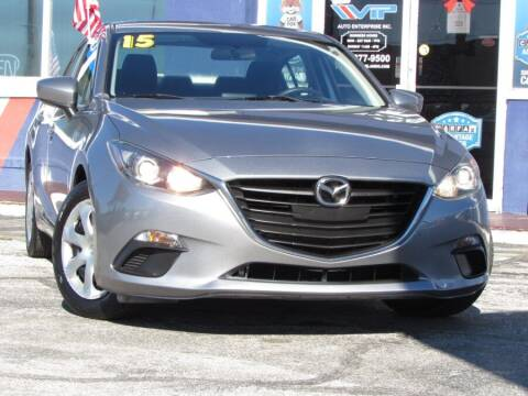 2015 Mazda MAZDA3 for sale at VIP AUTO ENTERPRISE INC. in Orlando FL