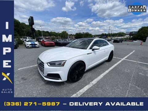 2019 Audi A5 for sale at Impex Auto Sales in Greensboro NC