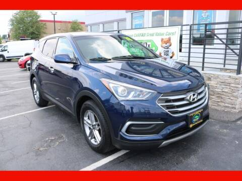 2018 Hyundai Santa Fe Sport for sale at AUTO POINT USED CARS in Rosedale MD