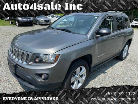 2014 Jeep Compass for sale at Auto4sale Inc in Mount Pocono PA