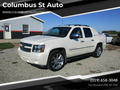 2013 Chevrolet Avalanche for sale at Columbus St Auto in Crawfordsville IA