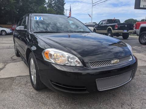 2012 Chevrolet Impala for sale at GREAT DEALS ON WHEELS in Michigan City IN