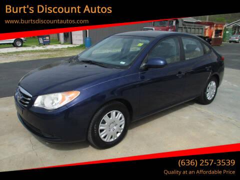 2010 Hyundai Elantra for sale at Burt's Discount Autos in Pacific MO