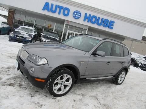 2009 BMW X3 for sale at Auto House Motors in Downers Grove IL