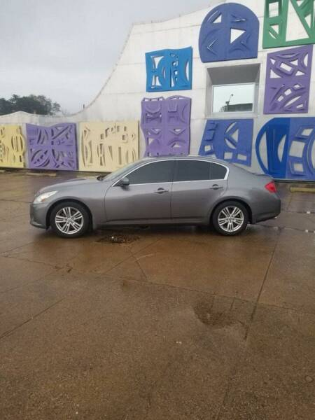2013 Infiniti G37 Sedan for sale in Marshall, TX