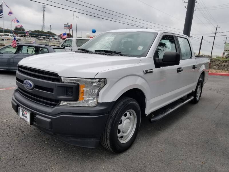 2018 Ford F-150 for sale at ON THE MOVE INC in Boerne TX
