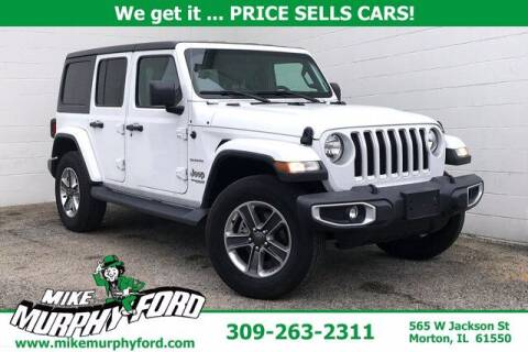 2020 Jeep Wrangler Unlimited for sale at Mike Murphy Ford in Morton IL