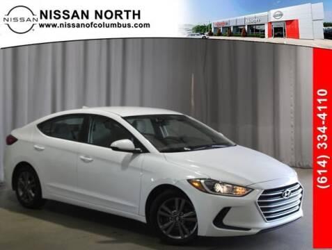 2017 Hyundai Elantra for sale at Auto Center of Columbus in Columbus OH