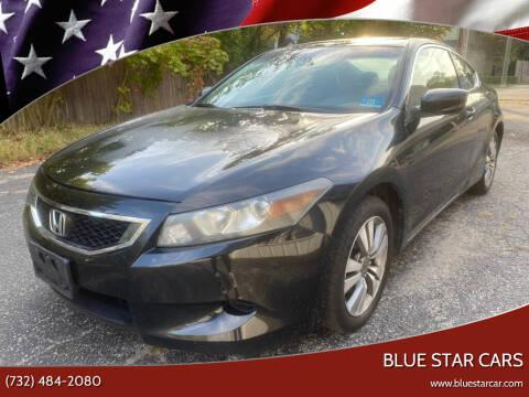 2009 Honda Accord for sale at Blue Star Cars in Jamesburg NJ