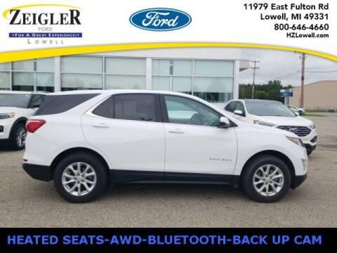 2018 Chevrolet Equinox for sale at Zeigler Ford of Plainwell- michael davis in Plainwell MI