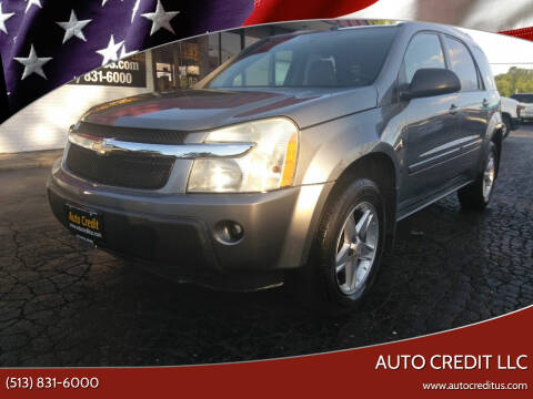 2005 Chevrolet Equinox for sale at Auto Credit LLC in Milford OH