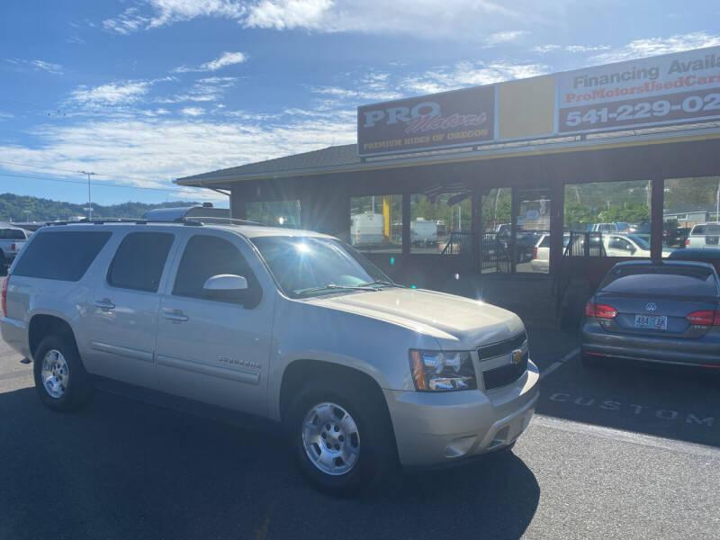2013 Chevrolet Suburban for sale at Pro Motors in Roseburg OR