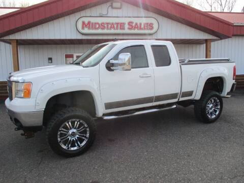 2007 GMC Sierra 2500HD for sale at Midstate Sales in Foley MN