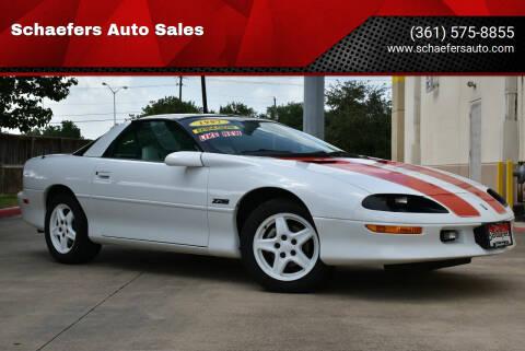 1997 Chevrolet Camaro for sale at Schaefers Auto Sales in Victoria TX