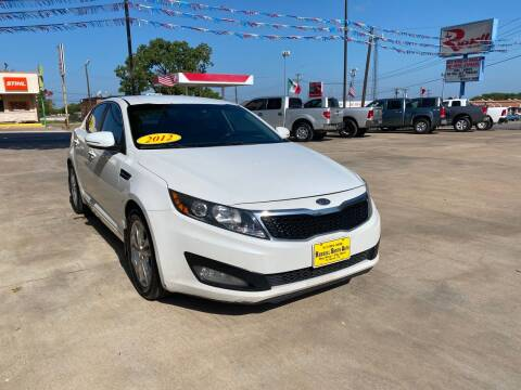 2012 Kia Optima for sale at Russell Smith Auto in Fort Worth TX
