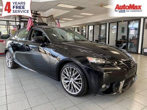 2014 Lexus IS 250 for sale at Auto Max - Rentals in Hollywood FL