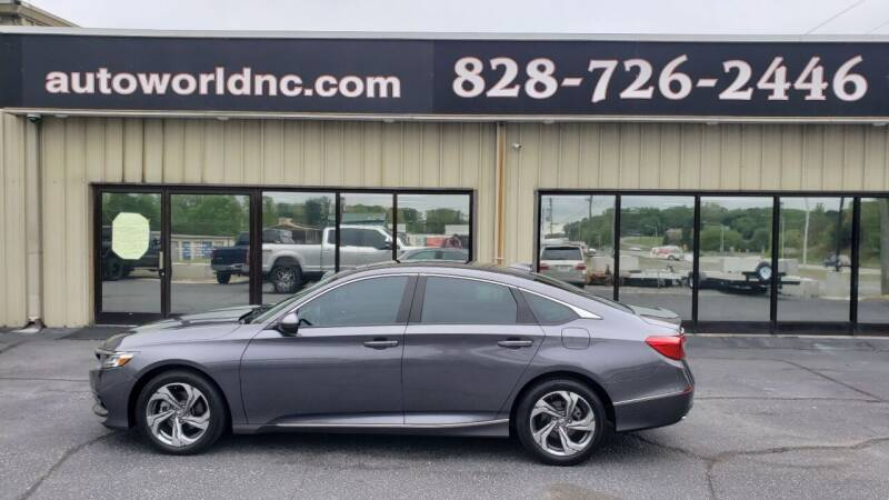 2018 Honda Accord for sale at AutoWorld of Lenoir in Lenoir NC