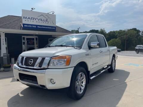 2014 Nissan Titan for sale at Maryville Auto Sales in Maryville TN