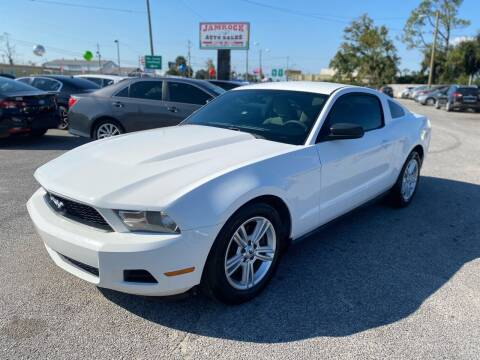 2012 Ford Mustang for sale at Jamrock Auto Sales of Panama City in Panama City FL