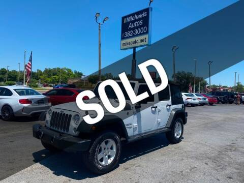 2018 Jeep Wrangler JK Unlimited for sale at Michaels Autos in Orlando FL