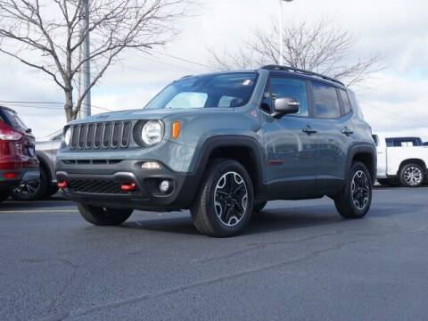 2016 Jeep Renegade for sale at BASNEY HONDA in Mishawaka IN