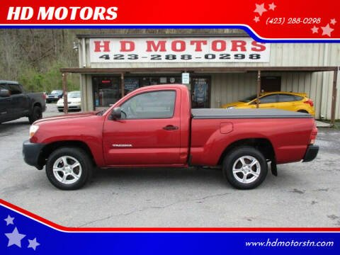 2007 Toyota Tacoma for sale at HD MOTORS in Kingsport TN