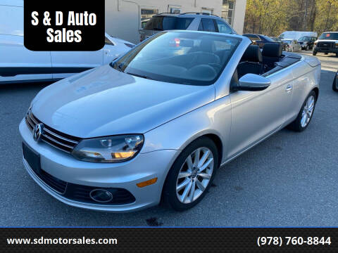 2012 Volkswagen Eos for sale at S & D Auto Sales in Maynard MA