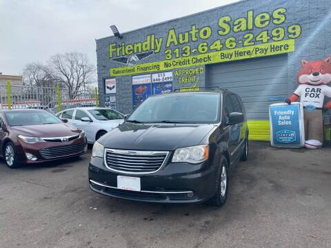 2012 Chrysler Town and Country for sale at Friendly Auto Sales in Detroit MI